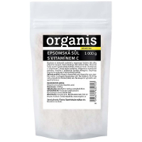 ORGANIS Epsomská soľ s vitamínom C 1000 g