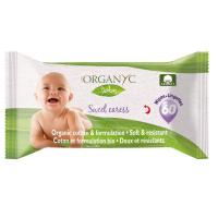 ORGANYC detské čistiace obrúsky z biobavlny 60 kusov