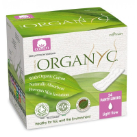 ORGANYC vložky z biobavlny slipové 24 kusov