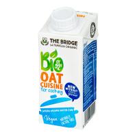 THE BRIDGE Ovsená alternatíva smotany na varenie 200 ml BIO