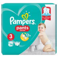 PAMPERS Pants CarryPack S3 Nohavičkové plienky 25 ks