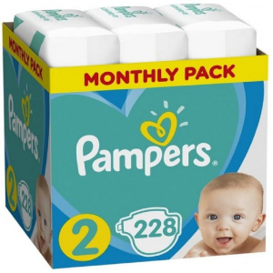PAMPERS Baby Monthy Box 3x 76 ks ( 4 - 8 kg )