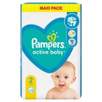 PAMPERS New Baby veľ.2 Detské plienky 3-6 kg 72 ks