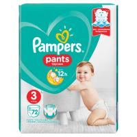 PAMPERS Pants Veľ.3 Plienkové nohavičky 72 ks