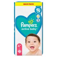 PAMPERS Active Baby veľ.4+ Detské plienky 10-15 kg 54 ks