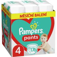 PAMPERS Pants veľ.4 Plienkové nohavičky 9-15 kg 176 ks