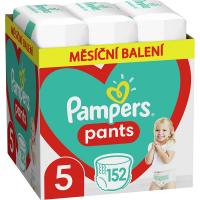 PAMPERS Pants veľ.5 Plienkové nohavičky 12-17 kg 152 ks