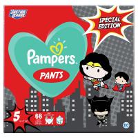 PAMPERS Pants veľ.5 Plienkové nohavičky 12-17 kg Warner Bros 66 ks