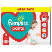 PAMPERS Pants veľ.7 Plienkové nohavičky 17 kg+ 74 ks