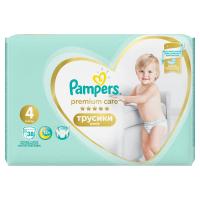 PAMPERS Premium Care Pants veľ.4 Plienkové nohavičky 9-15 kg 38 ks