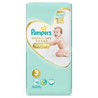 PAMPERS Premium Care Pants veľ.3 Plienkové nohavičky 6-11 kg 48 ks