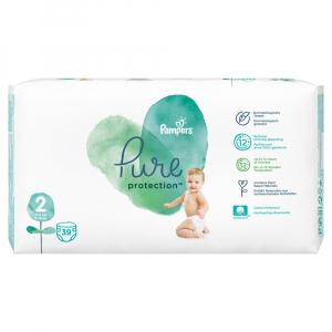 PAMPERS Pure Protect Veľ.2 Detské plienky 4-8 kg  39 ks