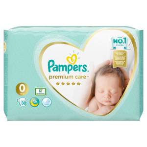 PAMPERS Premium Care 0 MEWBORN do 2,5 kg 30 kusov