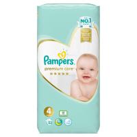 PAMPERS Premium Care, Velikost 4, Plenka 52x, 9kg-14 kg