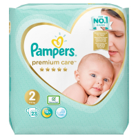 PAMPERS Premium Care Pack S2 MINI 4-8 kg 23 ks