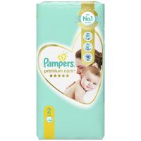PAMPERS Premium Care Value Pack Minus veľ.2 Detské plienky 4-8 kg 46 ks