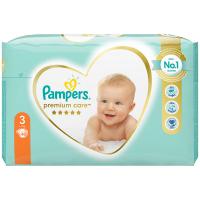 PAMPERS Premium Care Value Pack Minus veľ.3 Detské plienky 6-10 kg 40 ks