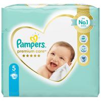 PAMPERS Premium Care Value Pack Minus veľ.5 Detské plienky 11-16 kg 30 ks