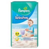 PAMPERS Splashers veľ. 3-4  Plienkové nohavičky do vody 12 ks