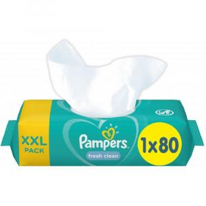 PAMPERS Vlhčené ubrúsky Fresh Clean 80 ks