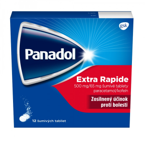 PANADOL Extra Rapid 500 mg x 12 šumivých tabliet