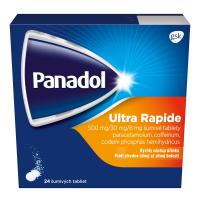 PANADOL ULTRA RAPIDE šumivé tablety 24ks