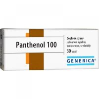 Generica Panthenol 100 mg 30 tabliet