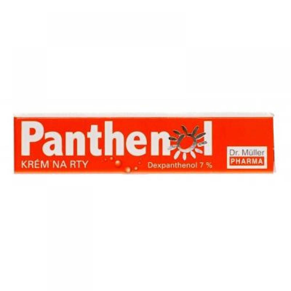 Panthenol krém na pery 7% 10ml (Dr.Müller)