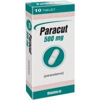 PARACUT TBL 10X500MG