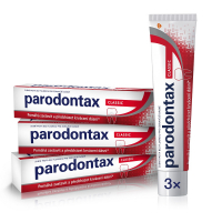 PARODONTAX zubná pasta Classic 3 x 75 ml