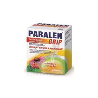 PARALEN GRIP horúci nápoj echinacea a šípky plo por 500 mg/10 mg 12 vrecúšok