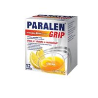 PARALEN GRIP horúci nápoj Novum 500 mg/10 mg prášok na perorálny roztok 12 vrecúšok