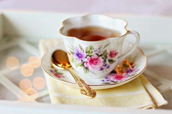 Pečený čaj - sladké pohladenie
