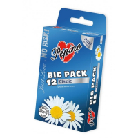 PEPINO prezervatívy kondómy classic 12 kusov