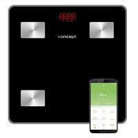 PERFECT HEALTH VO4001 Osobná váha diagnostická 180 kg, čierna
