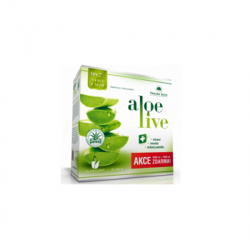 PHARMA ACTIV Aloe Live 1000 ml 1+1 ZADARMO