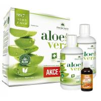 PHARMA ACTIV Aloe Vera Live 1+1 1000 ml + 100% Rakytníkový olej 50 ml