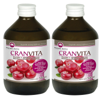 PHARMA ACTIV Cranvita brusnica 500 ml 1 + 1 SET