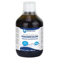 PHARMA ACTIV Tekutý horčík + vitamín C s malinovou príchuťou 300 ml