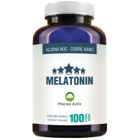 PHARMA ACTIV Melatonin 1 mg 100 tabliet