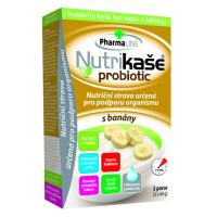 PHARMALINE Nutrikaša probiotic S banánmi  3x60 g