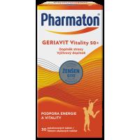 PHARMATON GERIAVIT Vitality 50+ tablety 30 kusov