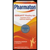 PHARMATON GERIAVIT Vitality 50+ 100 tabliet