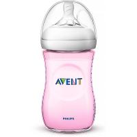 AVENT Fľaša Natural Ružová 260 ml