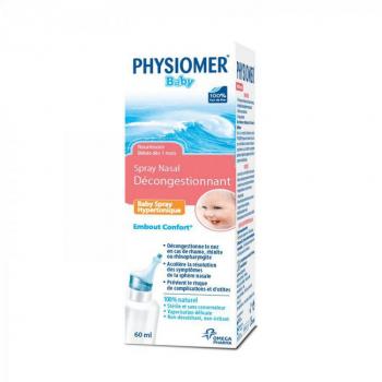 PHYSIOMER Baby hypertonic 60 ml
