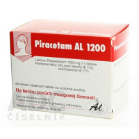 PIRACETAM AL 1200 1200 mg tablety 60 ks