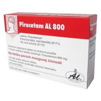 PIRACETAM AL 800 mg 50 tabliet
