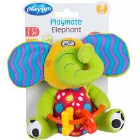 PLAYGRO Šuštiaci sloník s hryzátkami