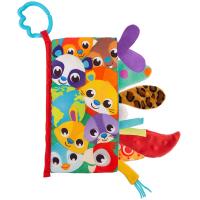 PLAYGRO Textilná knižka so zvieracími chvostíkmi