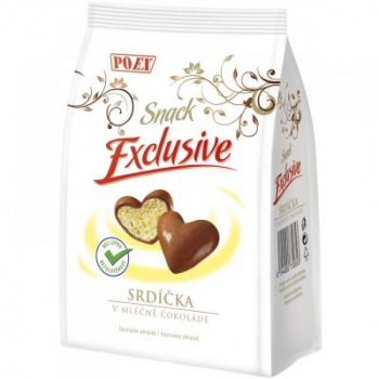 POEX Srdiečka v mliečnej čokoláde 90 g